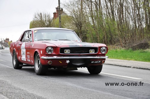 Mustang 1965 tour auto